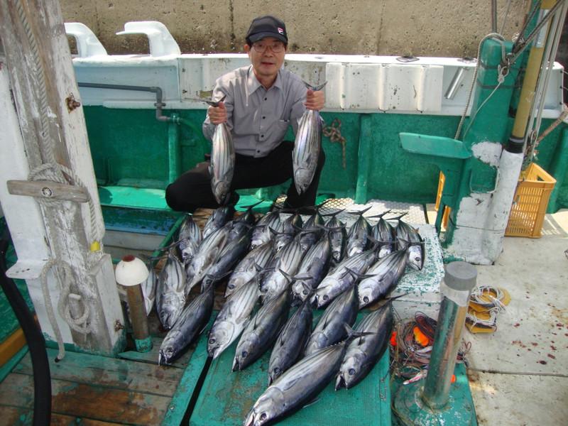 土佐湾でカツオ100kg200kgと好釣です【カジキ・マグロトローリング】_f0009039_10301261.jpg