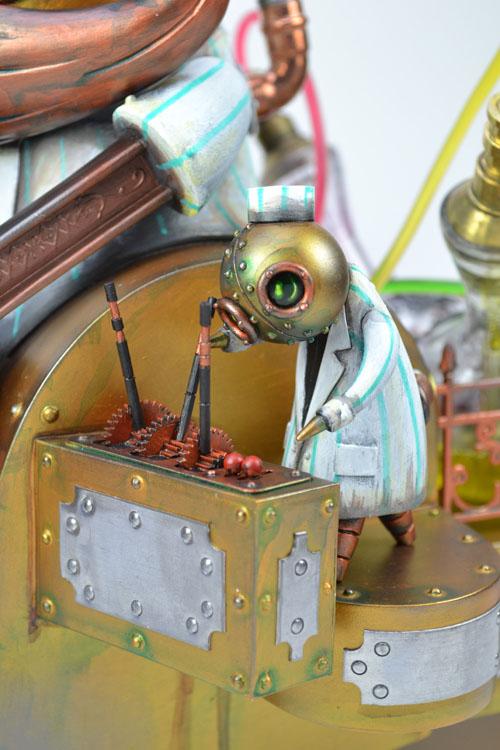Monsters & Misfits II、Doktor A作品、詳細_a0077842_5525575.jpg
