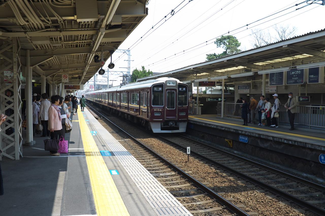 夙川の桜、最終編!_b0160331_16395025.jpg