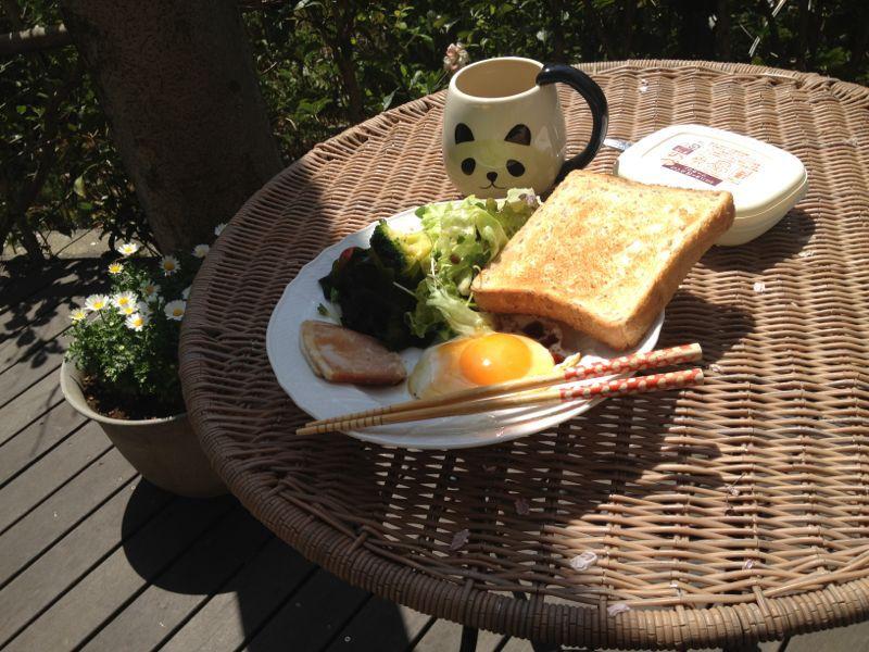 お家で朝食☆_c0151965_18582177.jpg