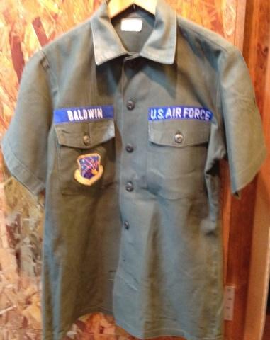 荷物が着いたので、少しだしました!オールコットン ARMYシャツ!_c0144020_14231096.jpg
