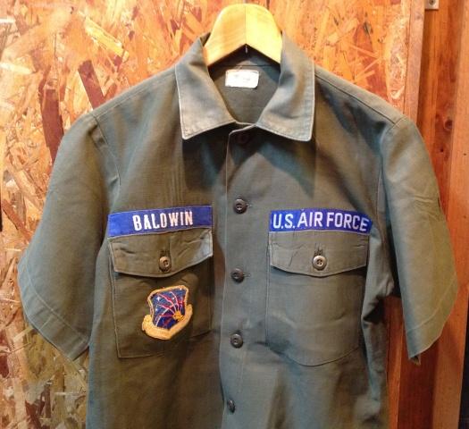 荷物が着いたので、少しだしました!オールコットン ARMYシャツ!_c0144020_14231514.jpg