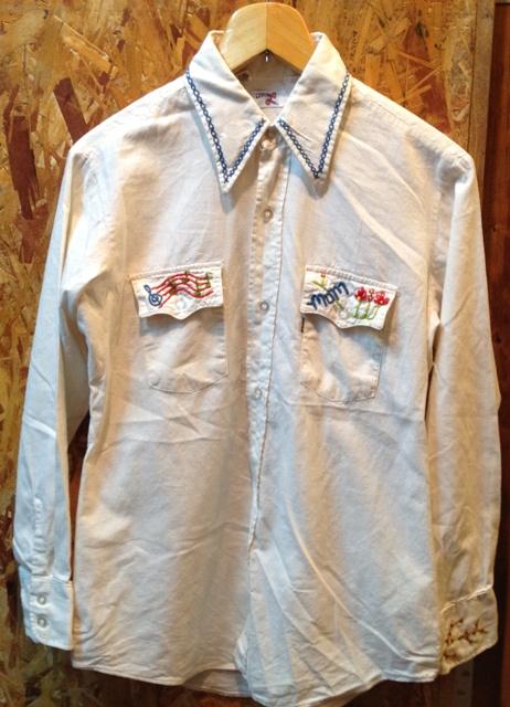 荷物が着いたので、少しだしました!70'S コットンリーバイシャツ!_c0144020_14242697.jpg