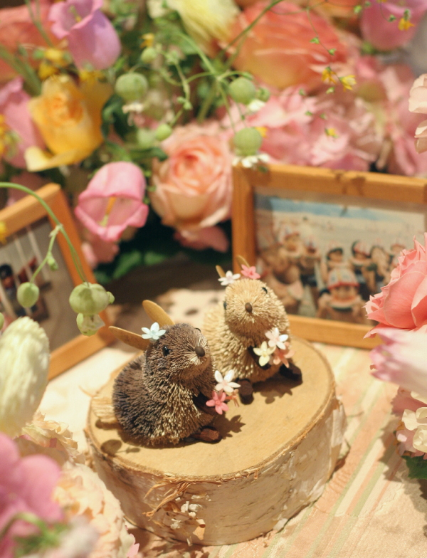 幸せってこういうこと、という花     あるホテル様のレストランウエディング_a0042928_17455436.jpg