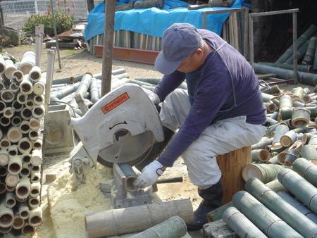 竹炭部会:竹材準備_c0108460_1615303.jpg
