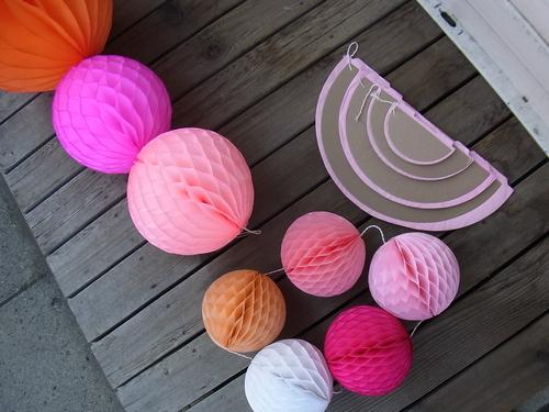 ハニカムペーパーボールにサイズが増えました。_a0121669_14253922.jpg