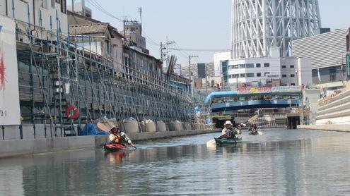 水彩都市江東に桜満開_c0249569_1638359.jpg