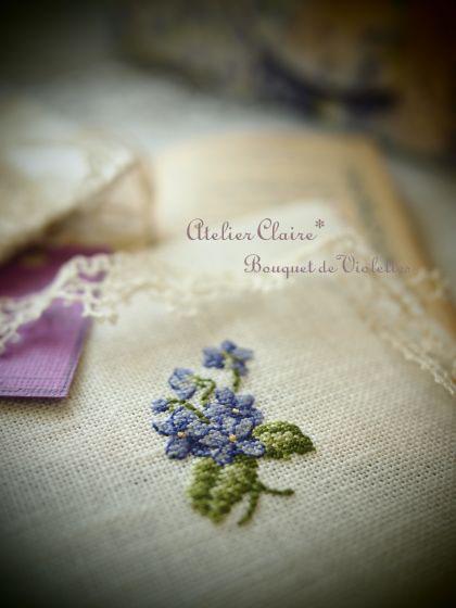 *Bouquet de  Violettes*_a0157409_0585414.jpg