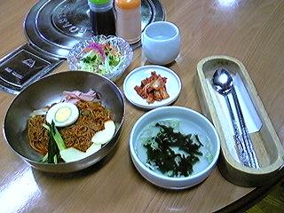 ビビン冷麺_c0216937_1121365.jpg