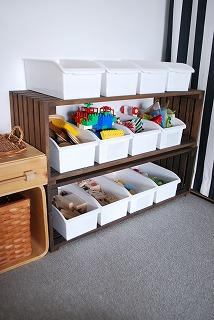 子ども部屋の収納12個のおもちゃボックス Ourhome