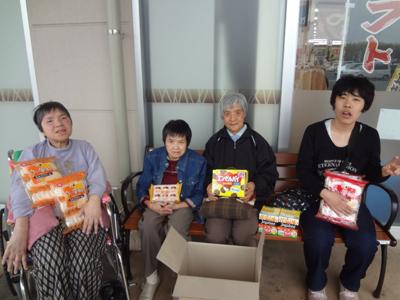 4/13黄色いレシートキャンペーンでお菓子をいただきました!_a0154110_11231268.jpg