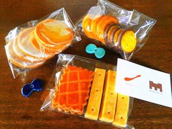 ろみさんのクッキー!_a0166313_1103763.jpg