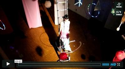 はらはらと桜ちって梯子ビデオ_b0171831_23422231.jpg