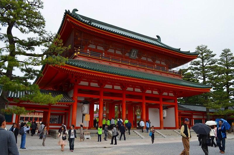 平安神宮周辺の桜便り_e0237645_1630034.jpg