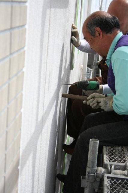 塗装工事が順調に進捗しています(神奈川県川崎市)_e0207151_20104942.jpg