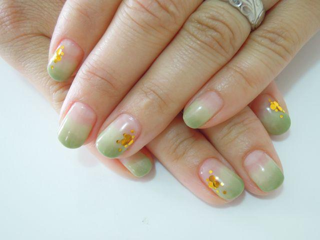 Fresh Green Nail_a0239065_11503178.jpg