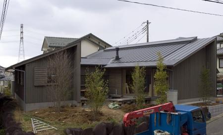 平屋(ユーカリが丘)の家_b0038919_19145564.jpg