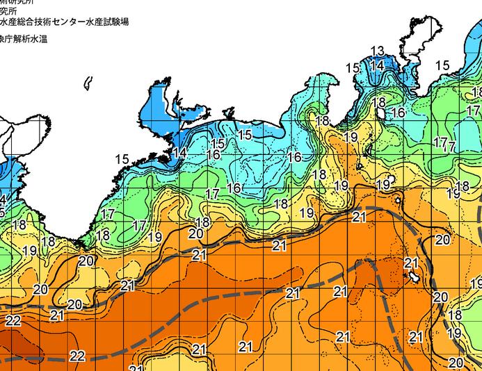 沖の黒潮が 伊豆諸島にぶつかって、動き始めています!!【カジキ・マグロトローリング】_f0009039_1631442.png