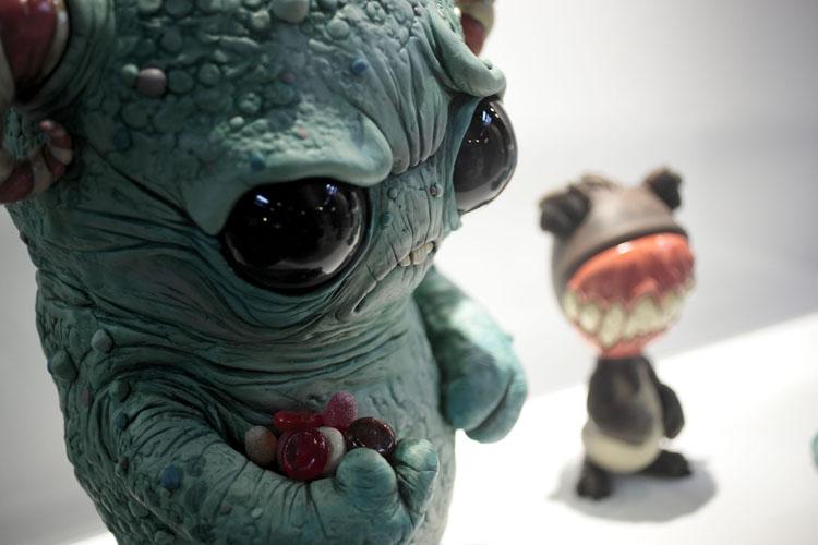 Monsters & Misfits II、続作品スナップ、野戸晋撮影_a0077842_6374890.jpg