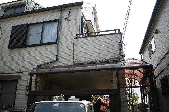 防水・鉄骨補強工事が始まりました(東京都府中市)_e0207151_19322619.jpg