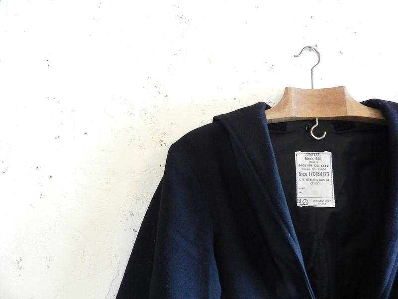 u.k. marine wool sailor jacket dead stock 2012 spring_f0226051_1483515.jpg