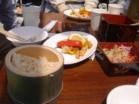平成18年:「筍掘り & 筍パーティー」 in 廣田邸_c0108460_0465157.jpg