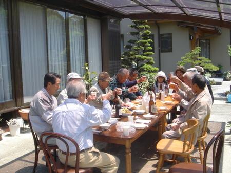 平成18年:「筍掘り & 筍パーティー」 in 廣田邸_c0108460_0473781.jpg