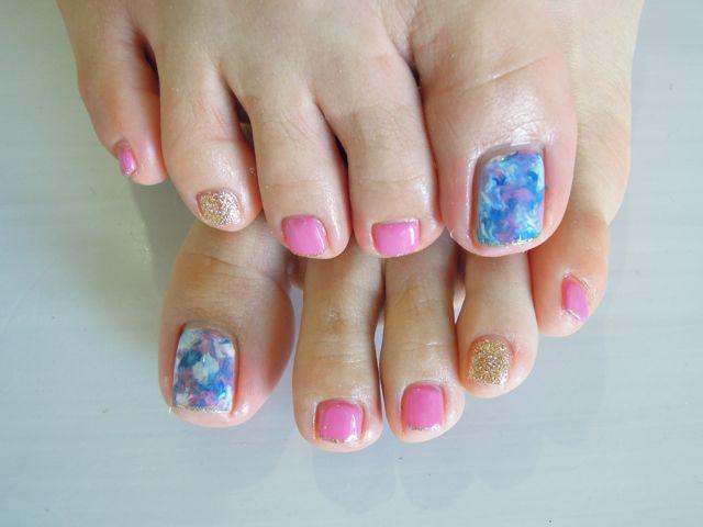 Marble Nail_a0239065_15302279.jpg