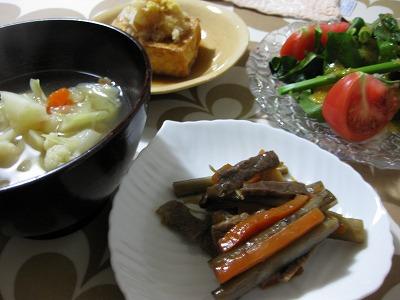 牛肉と牛蒡、人参の甘辛煮♪_f0116812_9312276.jpg