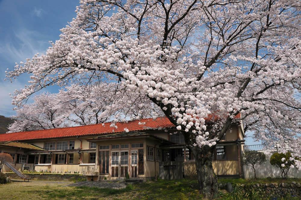 埼玉県小川町小学校下里分校 2012/4/18 : 写日記