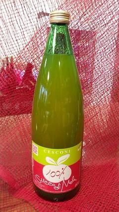 イタリア産100%りんごジュースです・・・_a0254125_1826799.jpg
