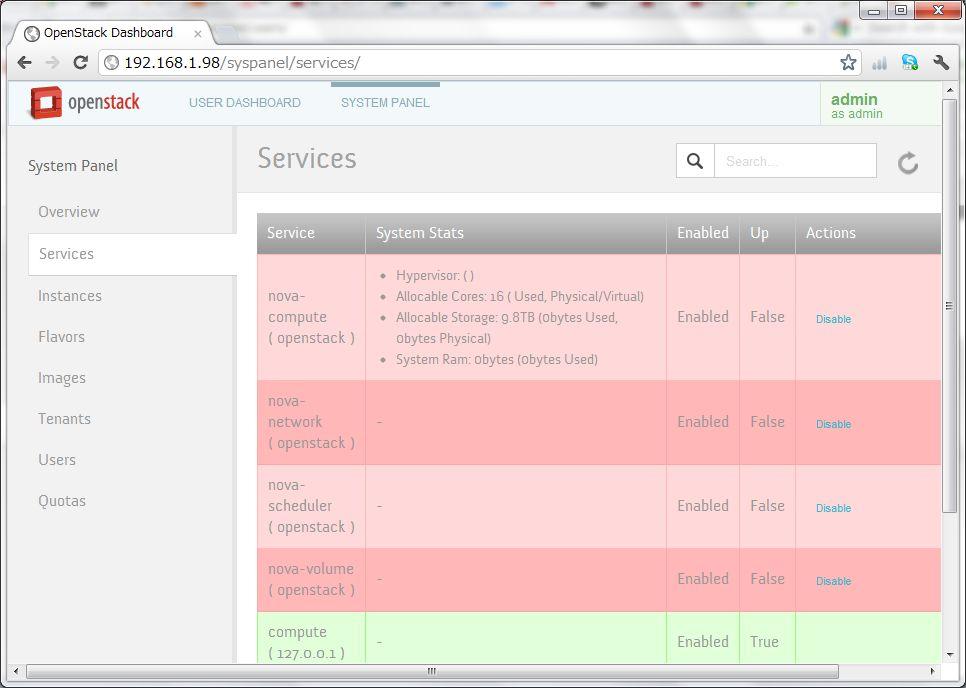 SUSE に OpenStackのデモ版をインストールしてみた_a0056607_1558770.jpg