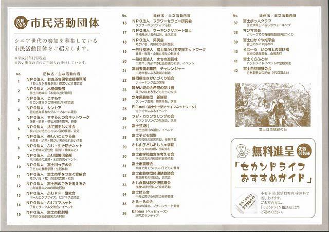 セカンドライフをどう過ごすか?準備するか? 富士市セカンドライフ促進ネットワーク_f0141310_8133479.jpg