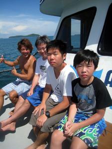 ご家族で体験ダイビング!!_f0144385_12141382.jpg