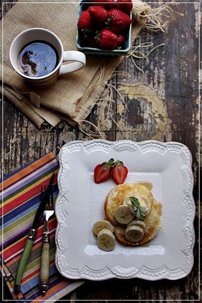ビルズのリコッタパンケーキを作りました。_e0185225_6353194.jpg
