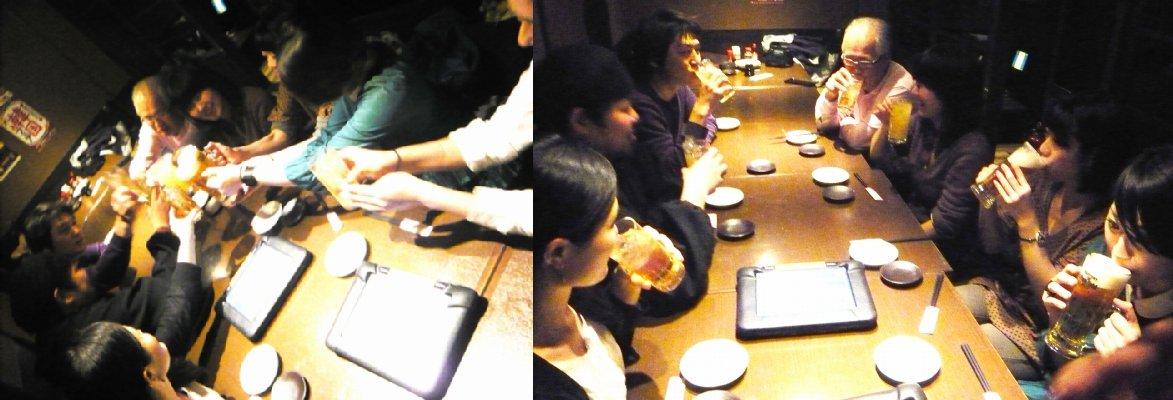 2012.表参道「桃林堂」回想日記7 ~6日目搬出~_b0135432_220556.jpg