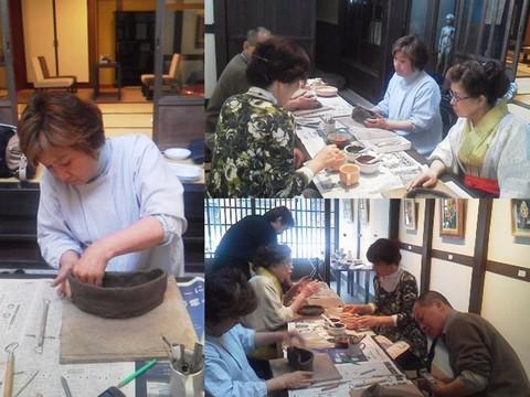 第13回 一日陶芸教室_f0233340_1565493.jpg