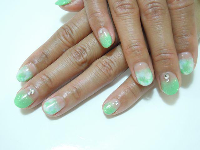 Green Nail_a0239065_18163898.jpg