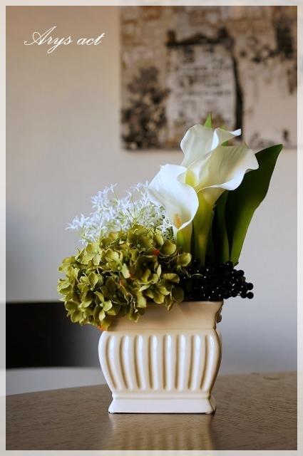 エステにお花を・・・。_c0243369_0112954.jpg