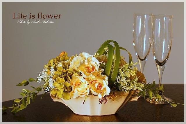 エステにお花を・・・。_c0243369_092279.jpg
