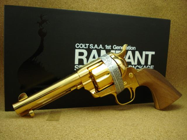 ランパントクラシック S.A.A. 1st 金属 イエローゴールド モデルガン_f0131995_11162421.jpg
