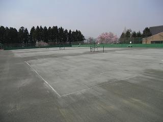 ◎テニスコート整備◎_d0027501_19393863.jpg