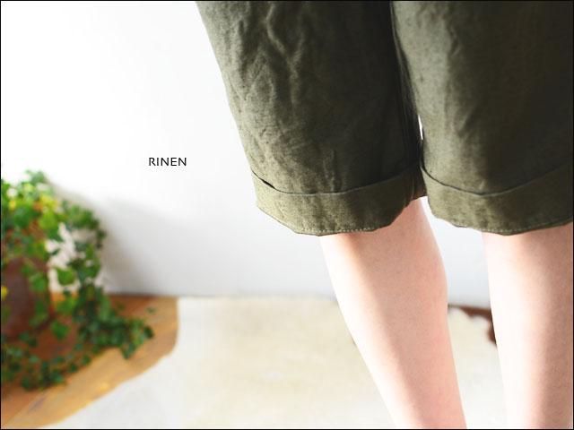 RINEN [リネン] 16/1綿麻バックサテンショートパンツ [43202] LADY\'S  _f0051306_16392557.jpg
