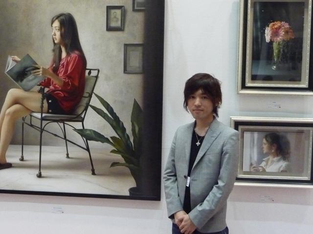 アートフェア東京2012山本大貴個展開催−日動画廊ブースにて_b0107314_11383297.jpg
