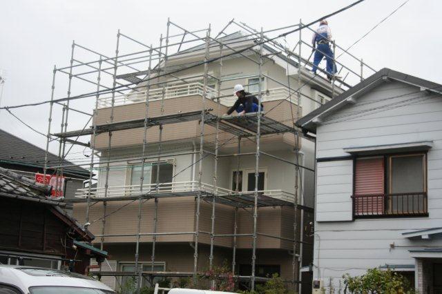 塗装工事が終了。お引き渡しをしました(川崎市)_e0207151_14524421.jpg