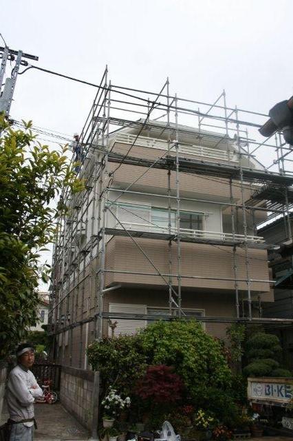 塗装工事が終了。お引き渡しをしました(川崎市)_e0207151_1453279.jpg