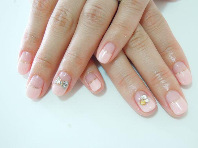 Pickup Nail~Pink Beige_a0239065_12474770.jpg