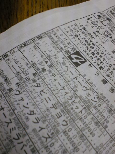 本日の京都4レース_c0001670_8222215.jpg