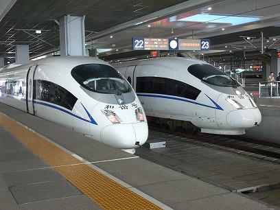 中国出張2010年11月(III)-第五日目-南京-上海高鉄(新幹線)移動_c0153302_18105538.jpg