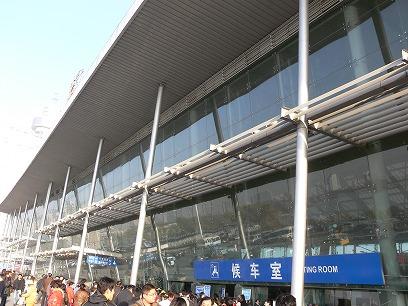 中国出張2010年11月(III)-第五日目-南京-上海高鉄(新幹線)移動_c0153302_1844283.jpg